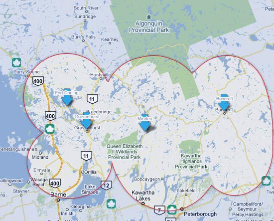 Portable Standby Generators Generator Solutions Canada - Location map generator